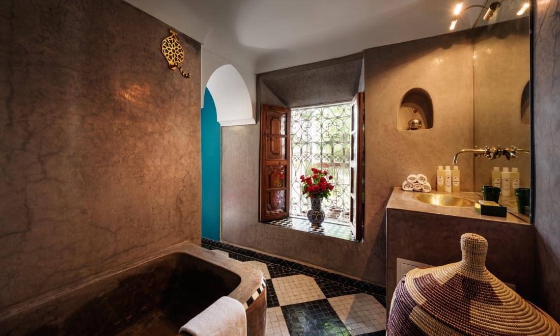 Riad in the medina marrakech